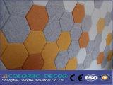 Papeles pintados de madera decorativos de la fibra del techo de la oficina