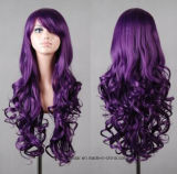 熱い販売の多色刷りの元のカラー女性の長い毛のかつら
