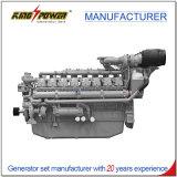 generador diesel 2000kw con el motor de Perkins usado en la central eléctrica