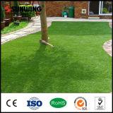 Alfombra artificial Anti-ULTRAVIOLETA de la hierba del césped del verde que pone del jardín superior de las ventas