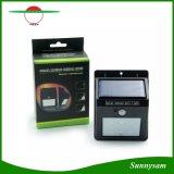 Bewegungs-Fühler-Licht-im Freiengarten-Wand-Lampe der Sonnenenergie-6 LED PIR für wasserdichte Garten-Rasen-Lampen-Landschaftsyard-Lichter