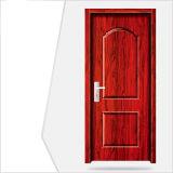 赤いHDFの現代内部ドア