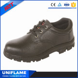 De rubber Enige Schoenen Ufa046 van het Werk van de Veiligheid van het Leer van het Schoeisel