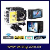 W9 Sj Kamera WiFi Vorgangs-Kamera 1080P volles HD imprägniern Sturzhelm-Sport-Kamera
