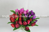 Artificial all'ingrosso Tulip Flower per Home Decoration