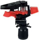 "1/2 "" POM Red Parte Circle Impulse Sprinkler para Irrigation"