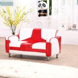 高品質現代2 SeaterすばらしいPVC革ソファーか子供の家具