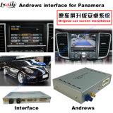 Relação Android da navegação do carro para Porsche-Macan, Pimenta de Caiena, Panamera; Promover a navegação do toque, WiFi, BT, Mirrorlink, HD 1080P