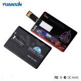 Lecteur flash USB 1-64GB par la carte de crédit en plastique fait sur commande