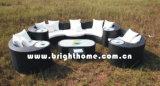 Le sofa extérieur élégant de rotin a placé (BP--873A)