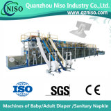 セリウム(CNK300-SV)が付いている高く効率的な大人のおむつ機械