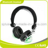 Neues Bluetooth drahtloses Stirnband-Stereokopfhörer 2016 mit Licht der Ableiter-Karten-LED