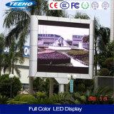 El gabinete de fundición a presión a troquel P10 SUMERGE la exhibición de LED al aire libre a todo color de la alta definición