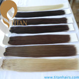 Virgin Remy Human Hair Extension Hair Weave (cabelo de Titan)