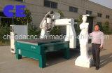 Máquina tamanho real do CNC da estátua de 5 linhas centrais