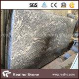 Lajes Polished do granito de China Juparana para bancadas da cozinha