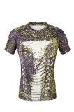 Cobra Printing Shirt di T-Shirt di compressione per Men Sports Wear (AKJSY-2015046)