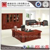 Bureau de luxe de placage en bois solide de meubles de bureau (NS-SL001)