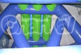 Water Game Hippo Slide de água inflável para crianças e adultos