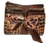ensembles de sac d'embrayage de bourse de la pièce de monnaie des filles 3PCS avec l'arc