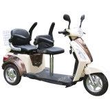 長の500W拡張電気三輪車、二重デラックスなサドル(TC-018B)が付いている3つの車輪の電気スクーター