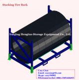 Racking Stackable de aço resistente do pneu do armazenamento do armazém