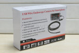 USB Borescope del USB Endoscope Inspection Camera IP67 Waterproof OTG Micro di 5.5mm Ultra Slim Android Smartphone