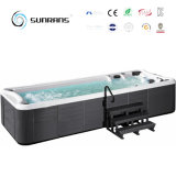 Freestanding AcrylMassage van uitstekende kwaliteit Swim Pool SPA