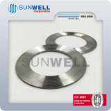 Garnitures dentelées de Kammprofile de garnitures avec la boucle extérieure Ss304 Ss316 (SUNWELL)