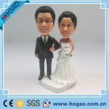 Os pares personalizados novos de venda quentes modernos do casamento da resina Bobble a cabeça