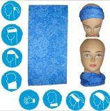 Bandana sans couture de tête faite sur commande avec la conception et le logo des clients