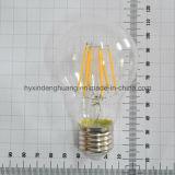 LEDのフィラメントランプA60 7W E27/B22は白を暖める