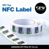 Стикер напечатанный логосом франтовской RFID Nfc Ntag213