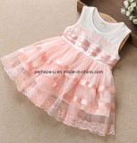 Usura dei bambini del vestito dal fiore del merletto del vestito dalle bambine di alta qualità
