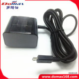 Teléfono móvil con conexión de cable del cargador del enchufe de pared para Blackberry