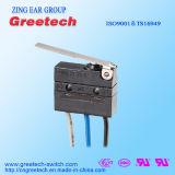Mini commutateur micro imperméable à l'eau (série G9, oreille de Zing)