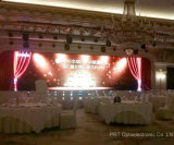 P10mm cortina de interior de vídeo LED con transmisión de iluminación de alta