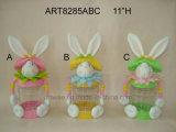 """6.5 """" Hx5 """" de Decoratie speelgoed-2asst van Pasen van de Container van het Suikergoed van het Konijntje van L"""
