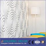 3D Wooden Waves Boards Panneau décoratif pour le cinéma