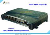 Lecteur fixe à quatre pistes d'IDENTIFICATION RF de fréquence ultra-haute de haute performance