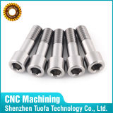 Cnc-maschinell bearbeitender Titanventil-Zapfen-Major/kundenspezifische Ersatzteile