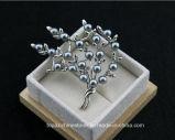 Appearlのアクセサリのヨーロッパの方法ラインストーンの合金の真珠のブローチ(TB-014黒ダイヤ)