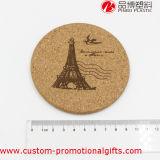 Patroon van de Toren van Eiffel van Eco het Vriendschappelijke om Cork Onderlegger voor glazen