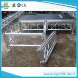 Stufe-Plattform-Stufe-Fußboden-hölzerne Stufe