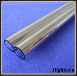 Qualitäts-Gold-Plated Doppelquarz-Glas-Rohr