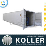 40 Fuß Containerized Ice Block Machine mit 5tons/Day