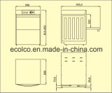 Eco T1 소형 바 탁상용 접지 닦은 기계 기계