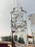 تصميم جديدة أنابيب زجاجيّة مع قرص عسل أسطوانة نقّار جهاز حفر نارجيلة