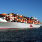 Trasporto marittimo del mare di trasporto, a Bombay, India dalla Cina