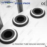 Materiale da otturazione di plastica ultrasonico automatico del tubo e macchina imballatrice del tubo delle estetiche della macchina di sigillamento (DGF-25C)